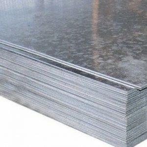 Лист гладкий 0,55х1250х2500 оцинкованный